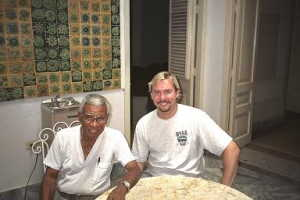 Jon with the great Richard Eges in Havana